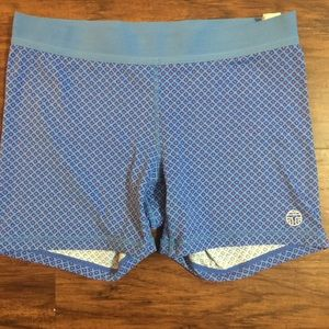 Tory Burch Sport Shorts. Size L. Blue color.
